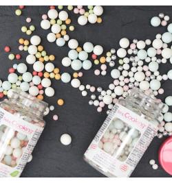 Pot de décors sucrés bubbles pastel réf.7409