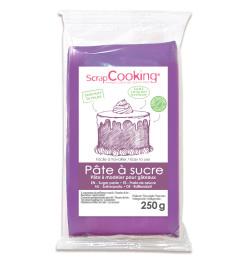 Pâte à sucre violette 250g réf.7227