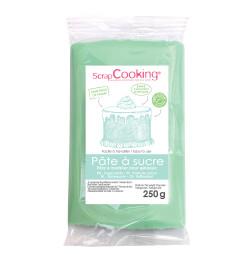 Pâte à sucre vert d'eau 250g réf.7237