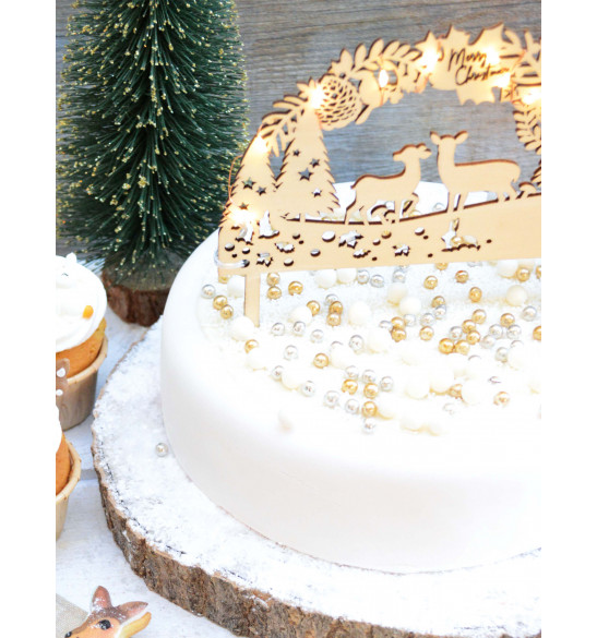 Echanted-themed sweet scenery decorations