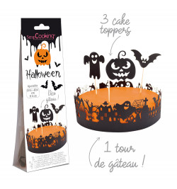 Déco gâteau Halloween réf.4914
