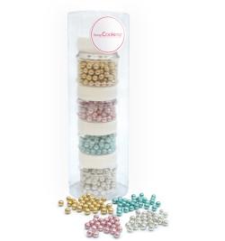 Iridescent pearls deco set