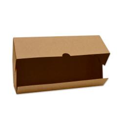 2 boites à cakes/bûches 35x11x11 cm réf.5500