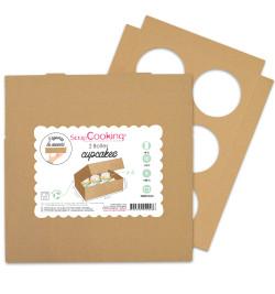 2 Cupcake boxes x6...