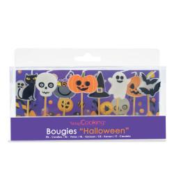 8 bougies Halloween réf.5031