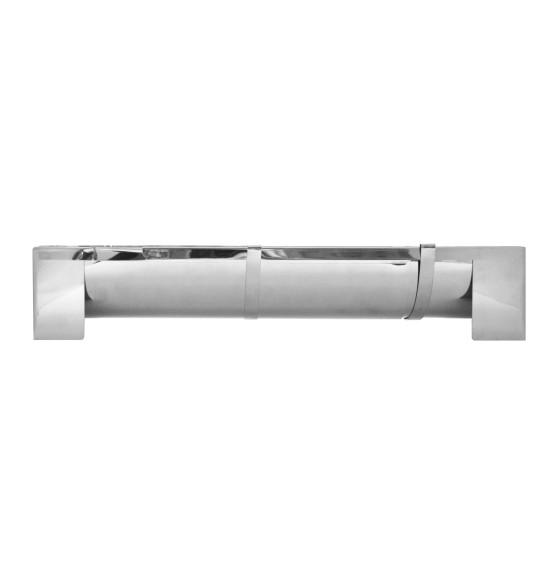 XXL stainless steel yule log
