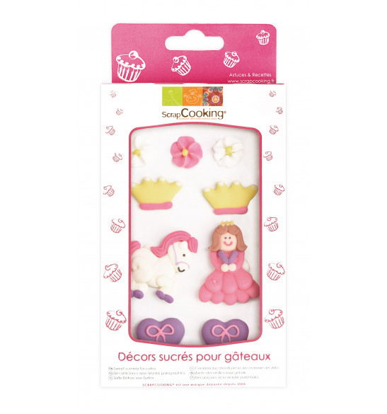 Princess-themed sweet scenery decorations