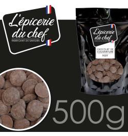 EDC8632 Palets de chocolat noir 500g