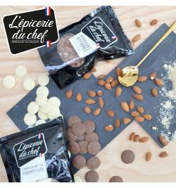 Ambiance EDC8632 Palets de chocolat noir 500g