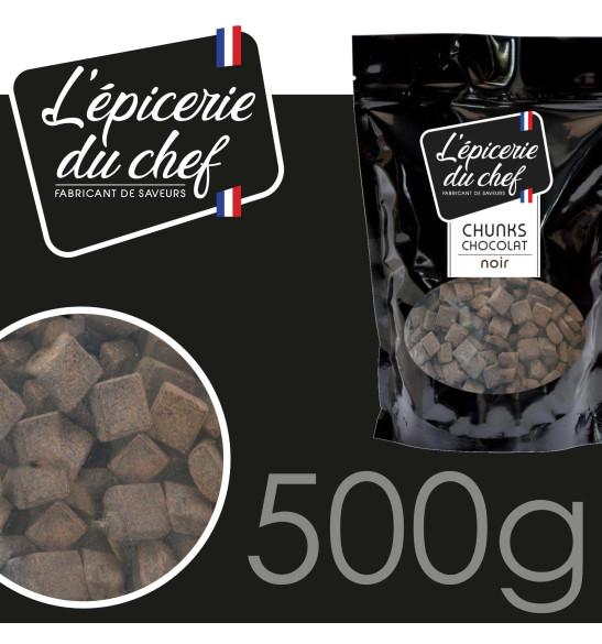 Chunks de chocolat noir 500g