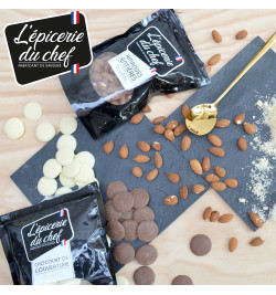 Almbiance EDC8771 Chunks de chocolat noir 500g