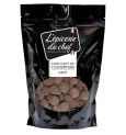 Palets de chocolat noir 1Kg