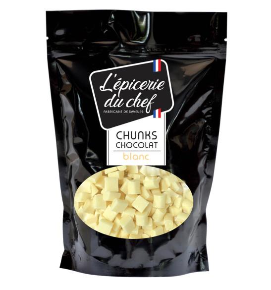 Chunks de chocolat blanc 1Kg
