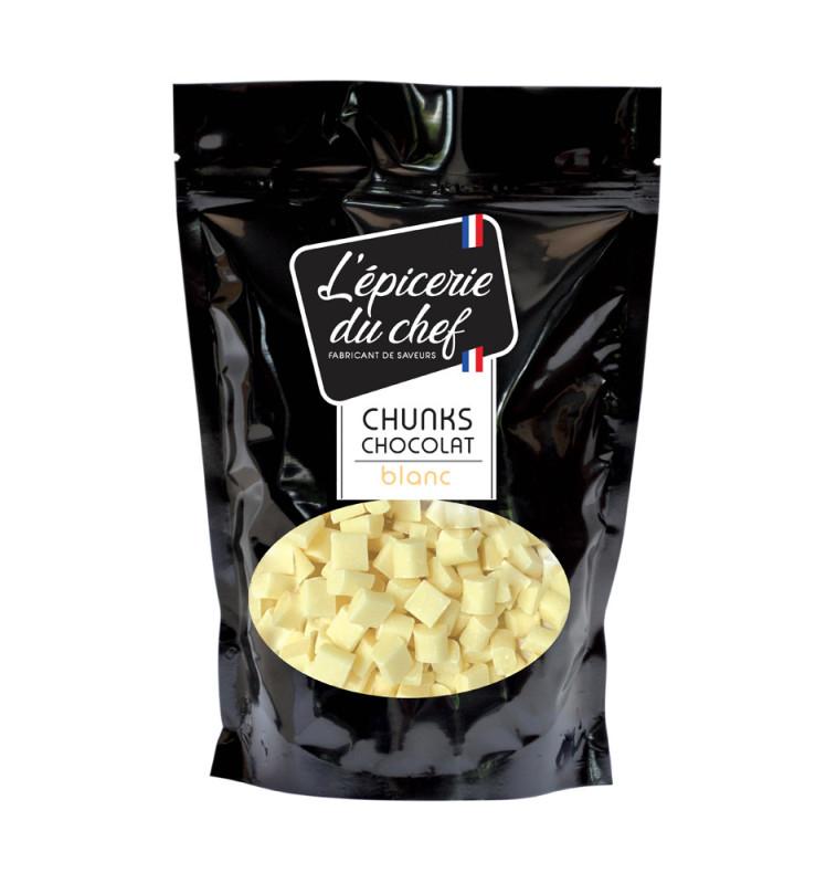 Chunks de chocolat blanc 500g