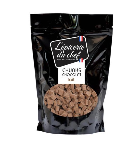 Chunks de chocolat au lait 500g