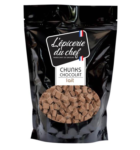 Chunks de chocolat au lait 1Kg