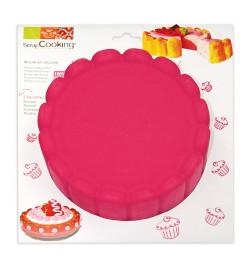 Moule à gâteau silicone charlotte réf.3001