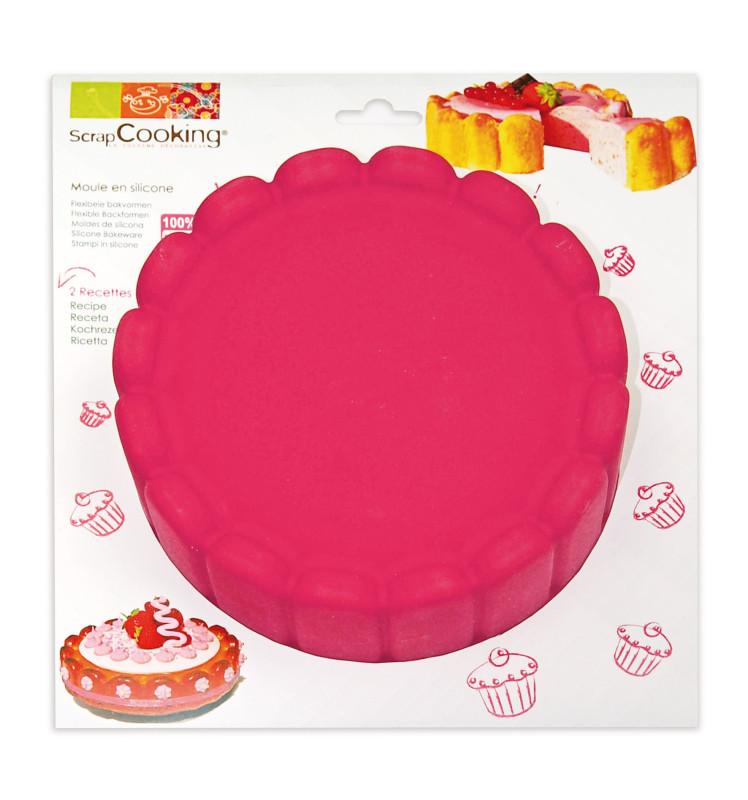 Moule à gâteau silicone charlotte