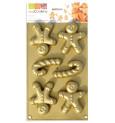 ScrapCooking® silicone mini gingerbread man mould