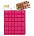 Moule silicone chocolat 2 tablettes