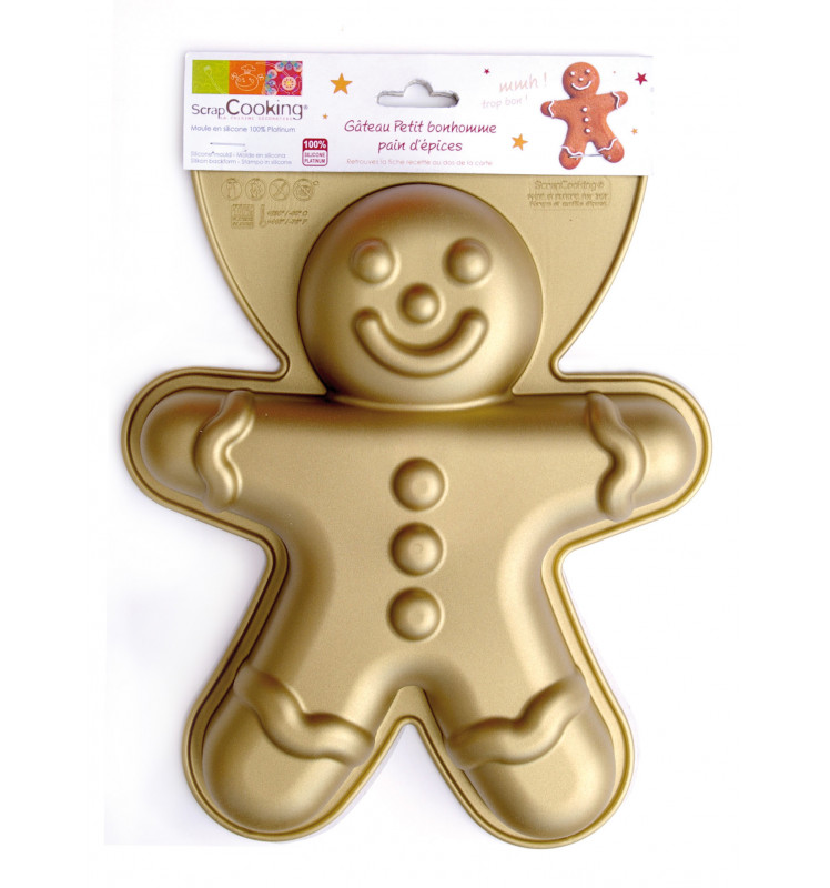 ScrapCooking® silicone gingerbread man mould