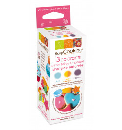 3 colorants d'origine...