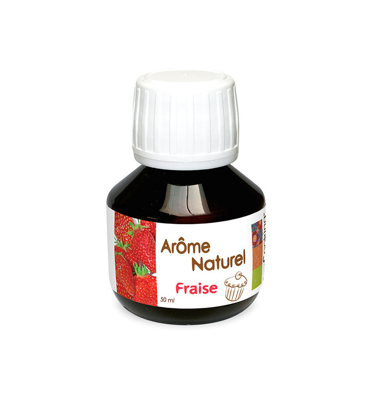 Natural strawberry flavouring 50 ml