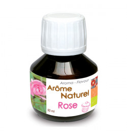 Natural rose flavouring 50 ml