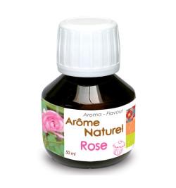 Arôme naturel liquide rose réf.4405