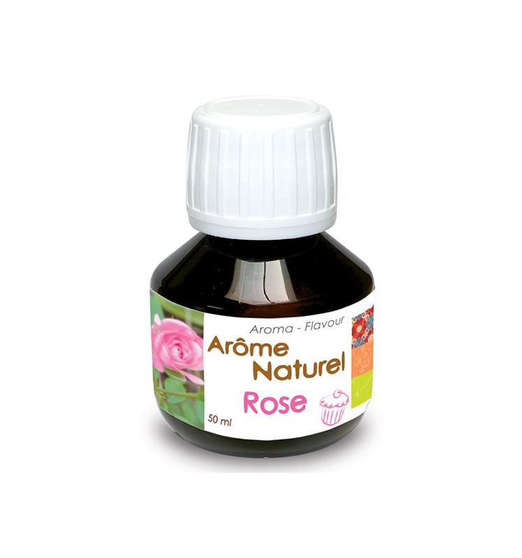 Arôme naturel liquide rose