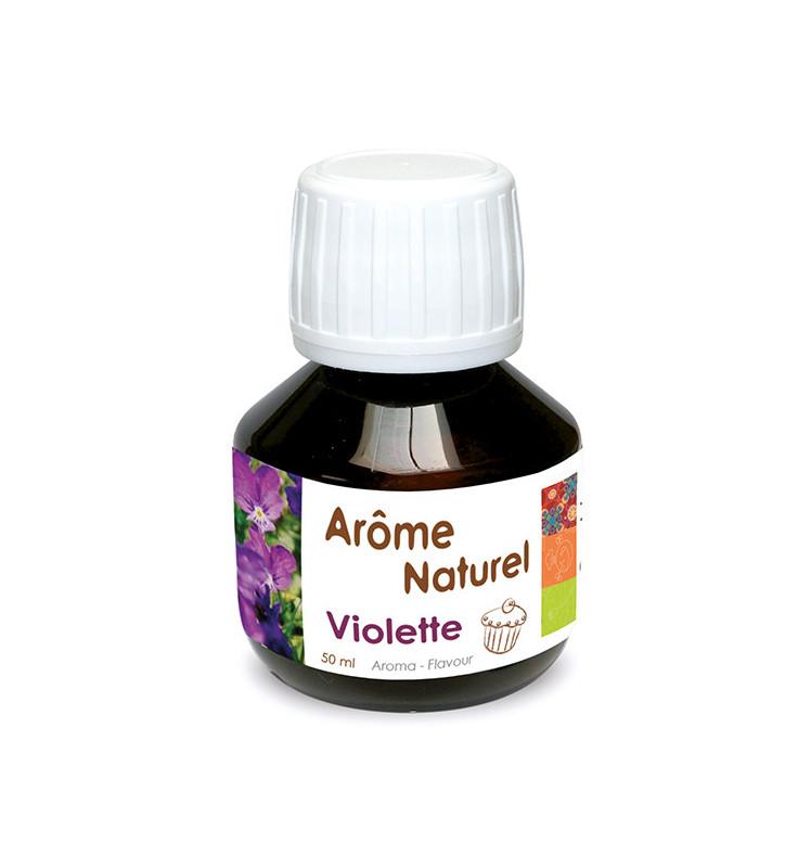 Arôme naturel liquide violette