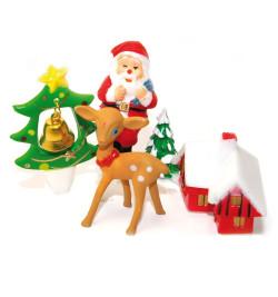 4 accessoires de Noël...