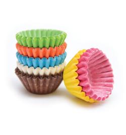 Mini-caissettes couleurs assorties +/- 140 réf.5032