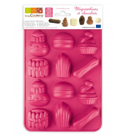 Moule silicone chocolat...
