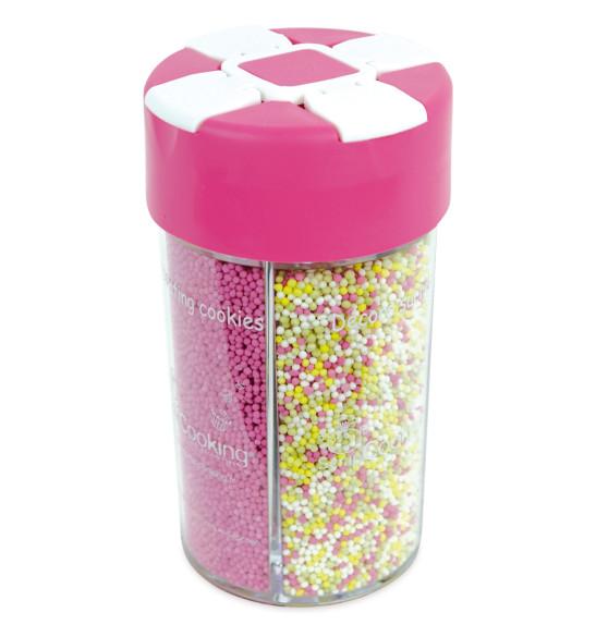 Boîte distributrice décors sucrés couleur naturelle