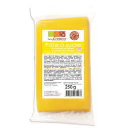 Yellow sugarpaste pack 250 g