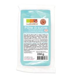 Pâte à sucre bleu clair 250g
