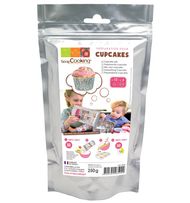 Préparation pour cupcakes 250 g
