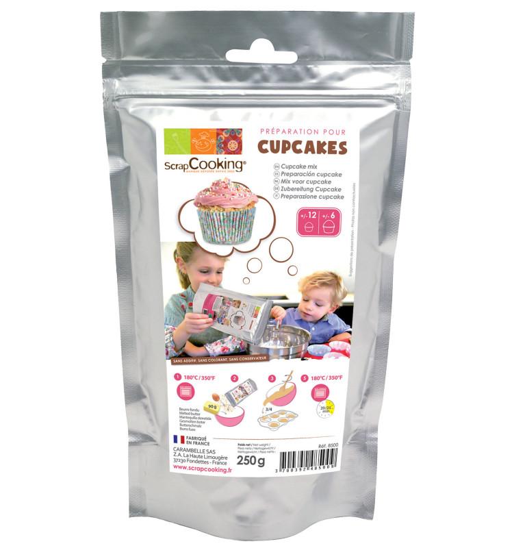 Préparation pour cupcakes
