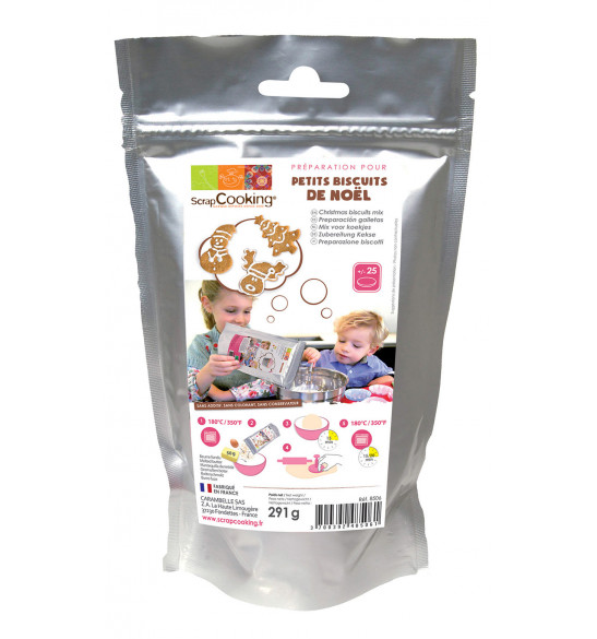 ScrapCooking® Christmas cookies mix 295 g