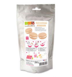 Plain macaroon shell mix 200g