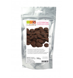Dark chocolate couverture 190g