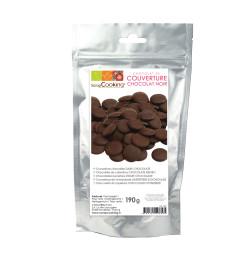 Palets de chocolat noir 190 gr réf.9600