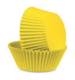 500 Caissettes 'jaune'