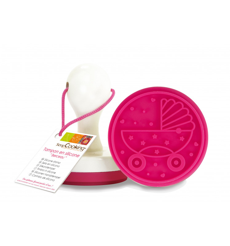 "Tampon en silicone pour biscuit ""Berceau"""