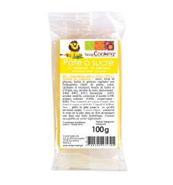 Yellow sugarpaste pack 100g