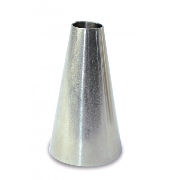 Stainless steel macaroon piping tip