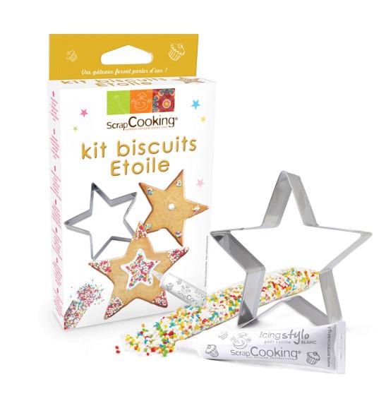 """Kit """"Je fais mes biscuits étoiles"""""""