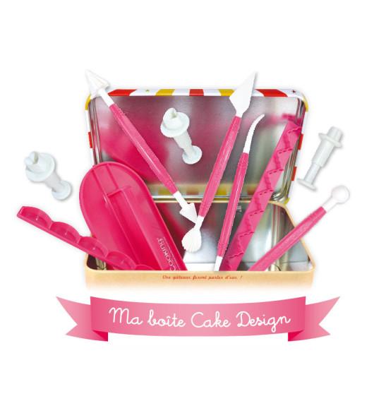 Boîte nécessaire cake design