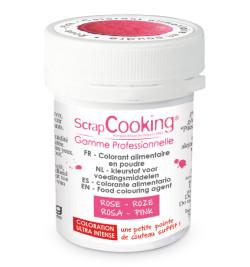 Colorant alimentaire en poudre rose 5 gr réf.4030